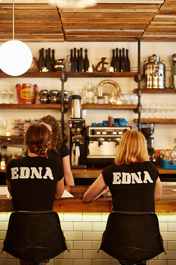 The staff at Edna in Halifax
