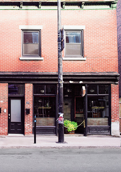 Rue Notre-Dame Ouest in Montreal's Little Burgundy