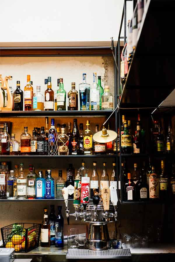 Le bar au Restaurant Dailo