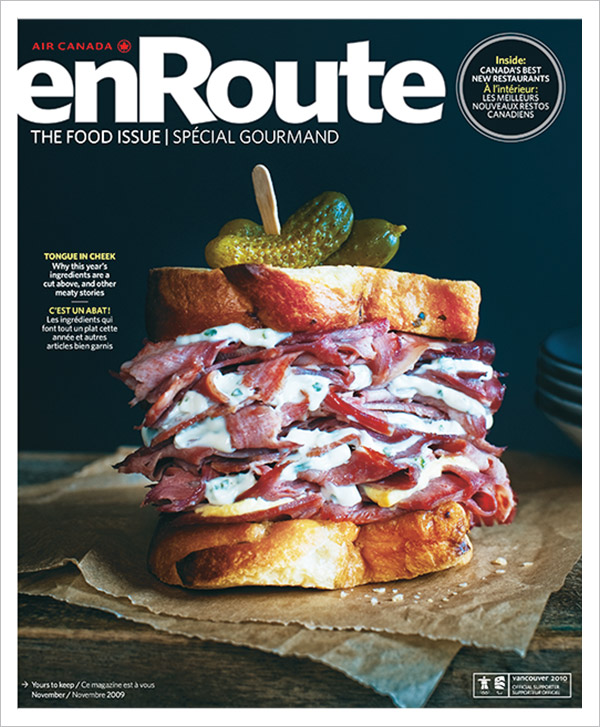 2009 <em>enRoute</em> Magazine Cover