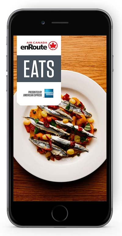 Eats Application in iPhone