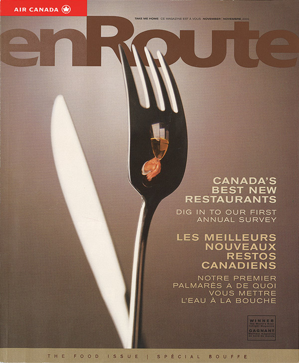 2002 enRoute Magazine Cover