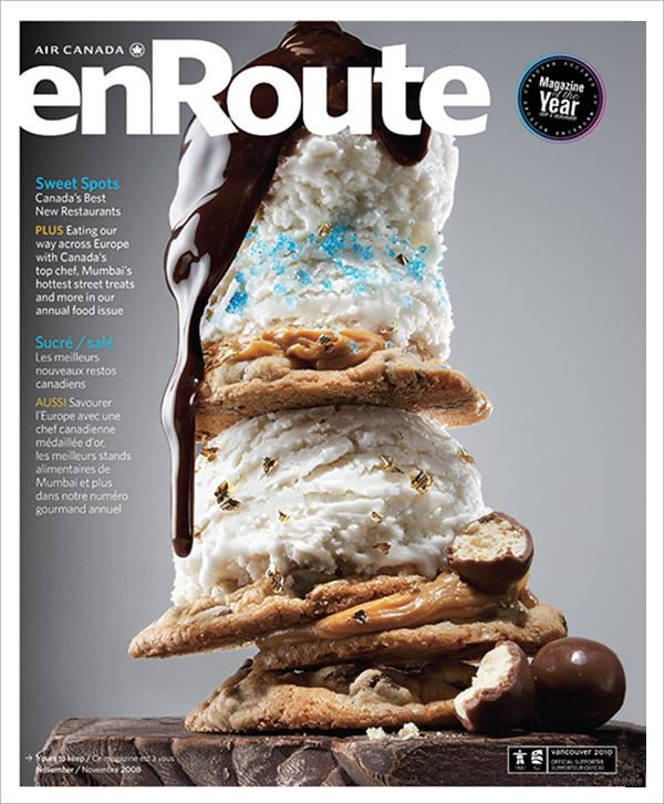 2008 enRoute Magazine Cover