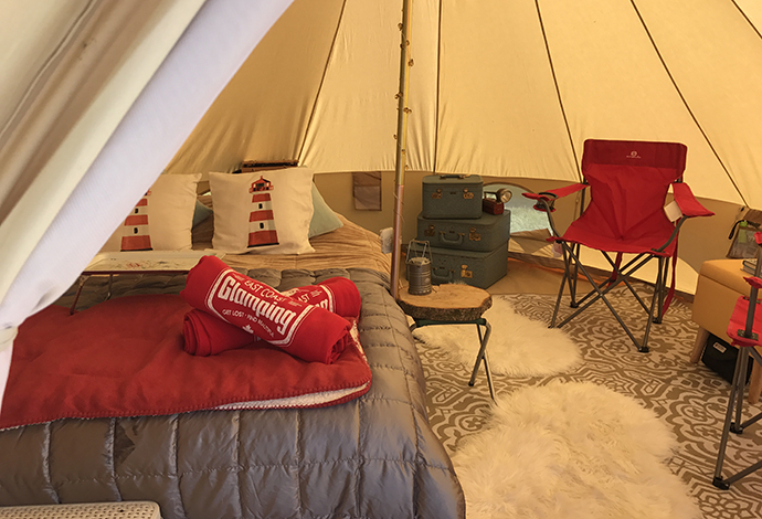 East Coast Glamping, Nouvelle-Écosse