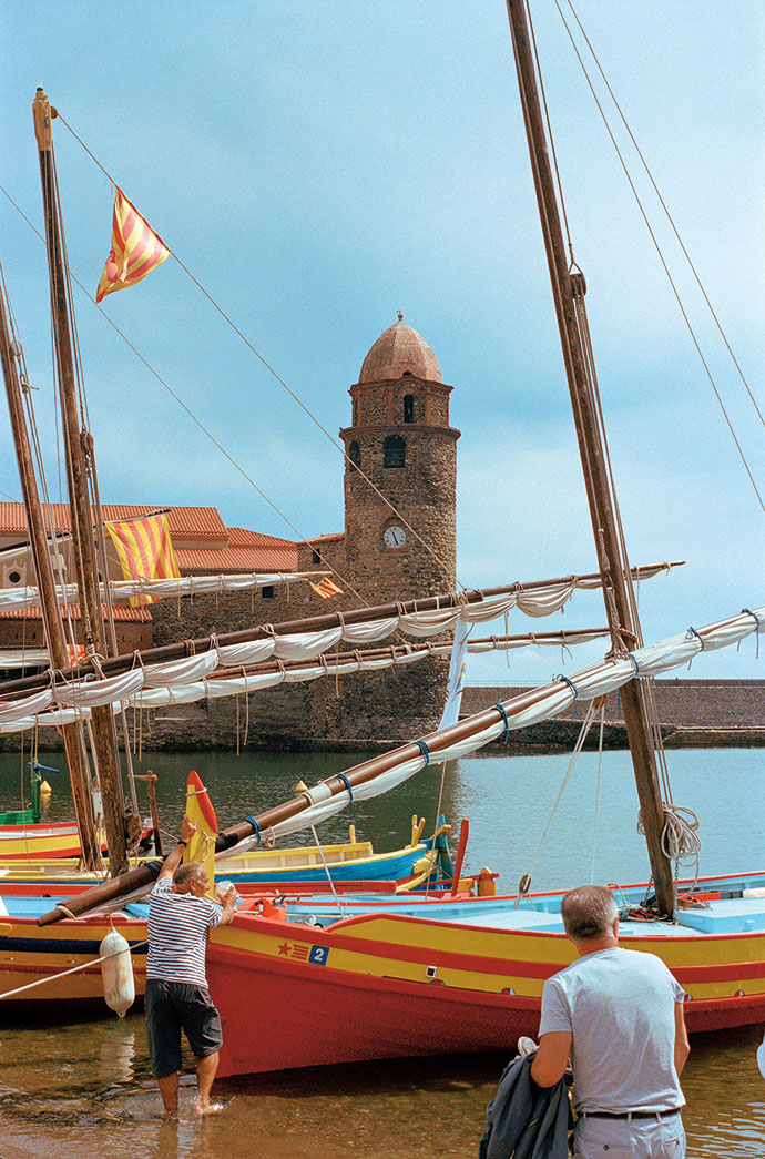 The vibrant colours of Collioure
